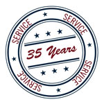 Lori Lins LTD logo promoting 33+ years of service